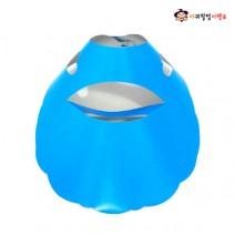 응원용 종이모자 - 야구장모자 (블루)