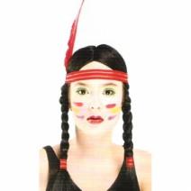 인디언여자가발(2번)