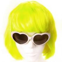 단발머리가발(노랑)