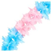 페이퍼 가랜드 (핑크&블루)
