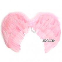 고급깃털천사날개(핑크)