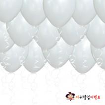헬륨풍선-펄화이트(50개무료배달)