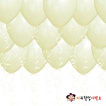 헬륨풍선-펄아이보리(50개무료배달)