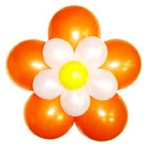 3단꽃풍선-펄오렌지(완성품)