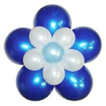 3단꽃풍선-펄블루(완성품)