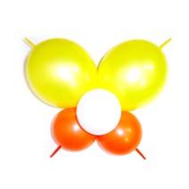꼬리달린나비-옐로우(완성품)