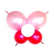 꼬리달린나비-핑크(완성품)