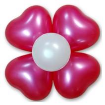 하트꽃풍선-펄푸치샤(완성품)