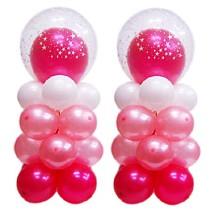 핑크미니기둥-1쌍(완성품무료배달)