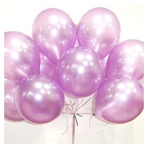 헬륨풍선100개-펄라벤더(완성품무료배달)