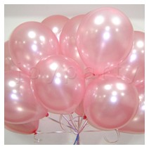 헬륨풍선100개-펄핑크(완성품무료배달)