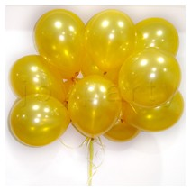 헬륨풍선100개-골드(완성품무료배달)
