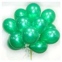 헬륨풍선100개-펄그린(완성품무료배달)
