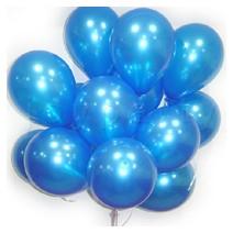 헬륨풍선100개-펄블루(완성품무료배달)