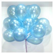 헬륨풍선100개-펄라이트블루(완성품무료배달)