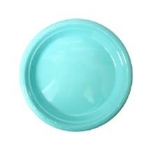 플라스틱접시-대(10개)라이트블루