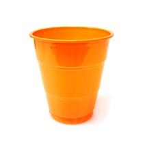 플라스틱컵(10개)오렌지