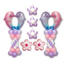 키싱돌핀세트(1쌍)-완성품무료배달