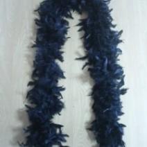 깃털목도리(블랙)