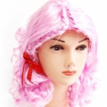 핑크색요정가발(대여)