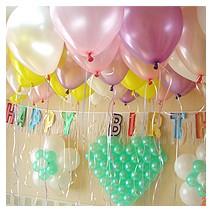 생일파티 깜짝파티 패키지 (헬륨풍선70개,출장장식)