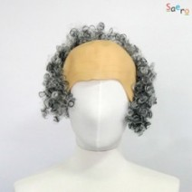 곱슬파마대머리가발(대여)