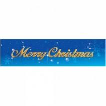 메세지현수막(크리스마스-블루)