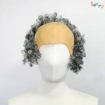 곱슬파마대머리가발