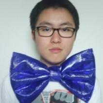 나비넥타이(특대)-블루