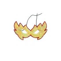 스팡클뿔가면(옐로우)