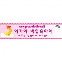 메세지현수막 (공주백일)