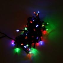LED100전구(녹색선/칼라불빛)