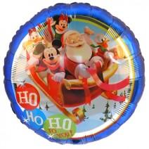 미키클럽하우스 산타&프렌즈 (은박풍선)