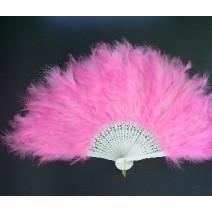 깃털부채-핑크(대여)