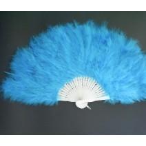 깃털부채-블루(대여)