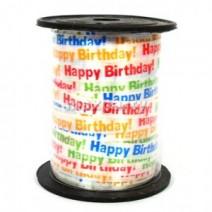 인쇄컬링리본-생일(10m)