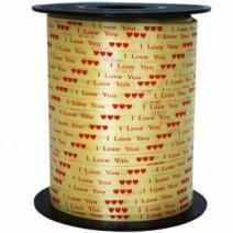 인쇄컬링리본(사랑골드)-500야드