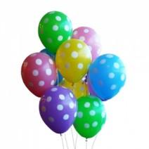 기념일에 헬륨풍선 선물하기*^^*(땡땡이 도트 100개) - 무료차량배달