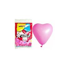 25cm하트풍선 핑크(30개)