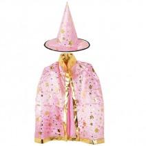 별무늬망토 의상+모자 세트(아동용-핑크)