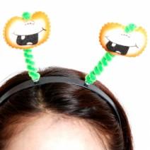 큐티호박장식머리띠