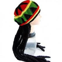 자메이카 레게가발+모자(대여)