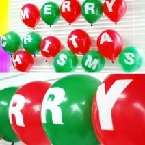 메리크리스마스 알파벳풍선 (2세트 만들기재료)