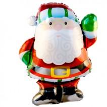크리스마스 윈지컴산타 (대형은박풍선)