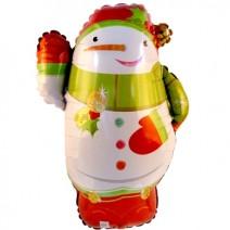 크리스마스 졸리스노우맨 (은박풍선)