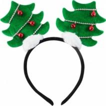 크리스마스 트리머리띠 (그린)