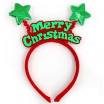 크리스마스영문머리띠