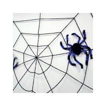대형데코거미줄(360cm)-블랙/화이트