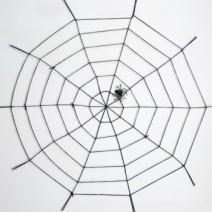 굵은거미줄1.5M 블랙