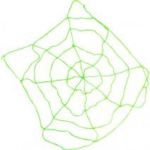 탄력거미줄1.5M (그린)